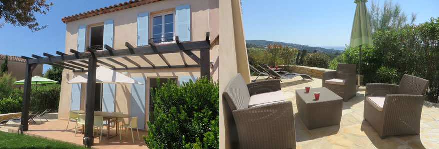 Holiday let vacation Southern France Villa les Coralines